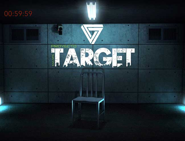 escape room Barcelona Proyecto Target