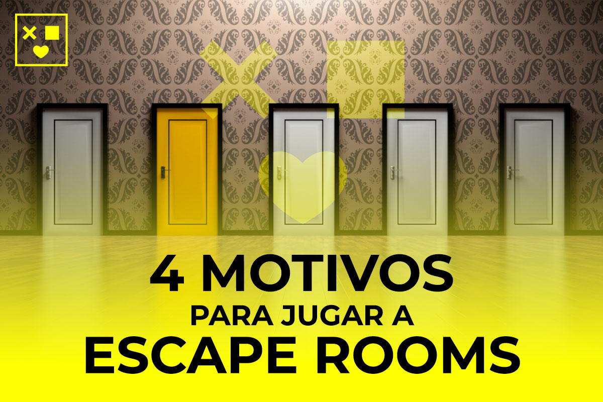 motivos jugar a escape room