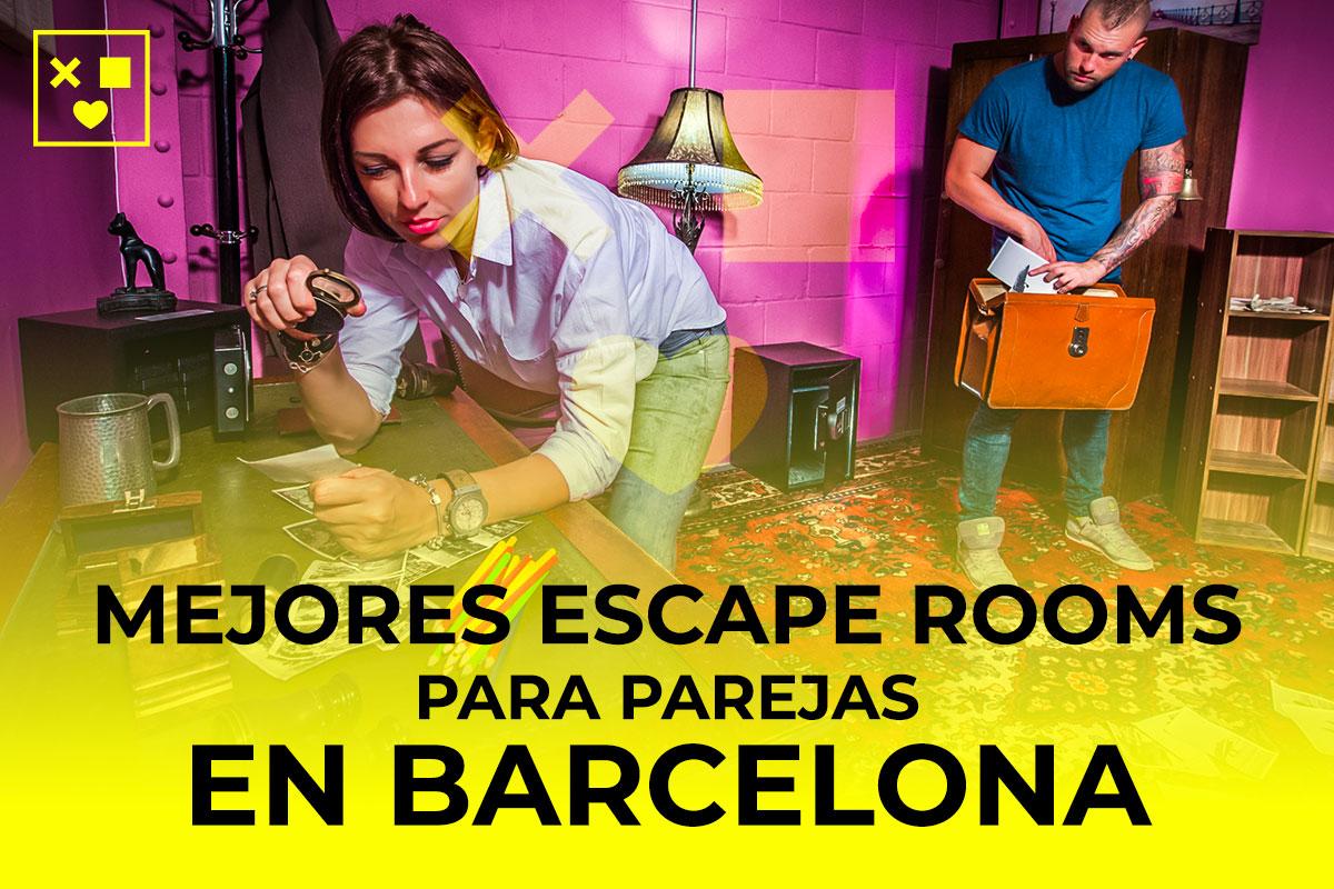 Mejores escape rooms parejas Barcelona