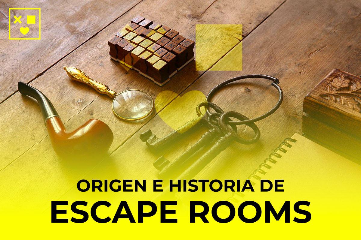 origen y historia de escape rooms